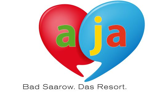 Certificate/Logo a-ja Bad Saarow. Das Resort.