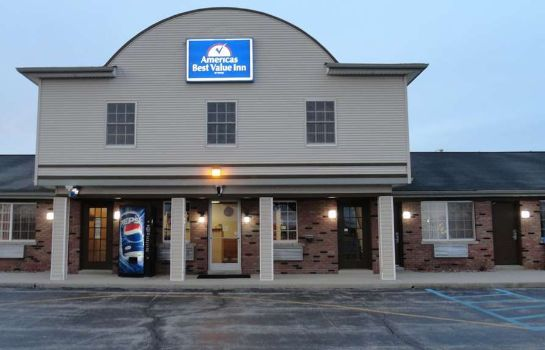 Außenansicht Americas Best Value Inn Decatur, IN