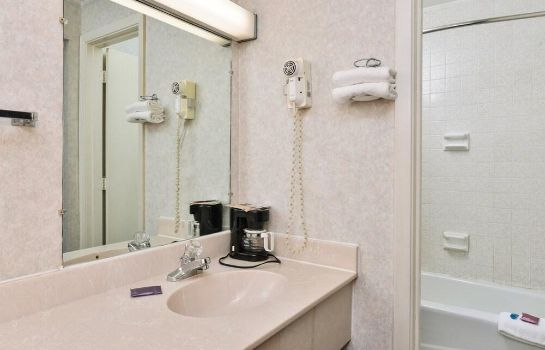 Badezimmer Americas Best Value Inn Decatur, IN