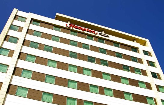 Exterior view Hampton by Hilton Barranquilla Colombia
