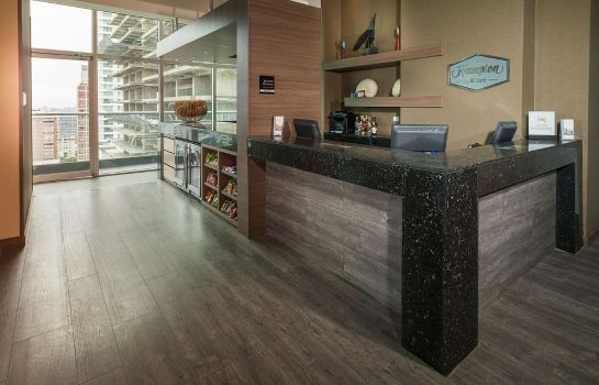 Hotelhalle Hampton by Hilton Cartagena Colombia