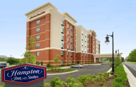 Außenansicht Hampton Inn - Suites Washington DC North-Gaithersburg MD