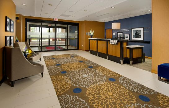 Hotelhalle Hampton Inn - Suites Washington DC North-Gaithersburg MD