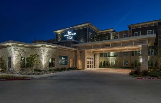 Exterior view Homewood Suites by Hilton Fort Worth - Medical Center TX