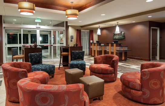 Lobby Homewood Suites by Hilton Fort Worth - Medical Center TX