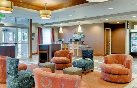 Hall de l'hôtel Homewood Suites by Hilton Fort Worth - Medical Center TX