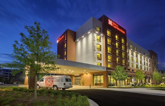 Buitenaanzicht Hilton Garden Inn Durham-University Medical Center