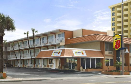Exterior view Super 8 Daytona Beach Oceanfront