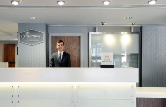 Hotelhalle Hampton by Hilton Sheffield