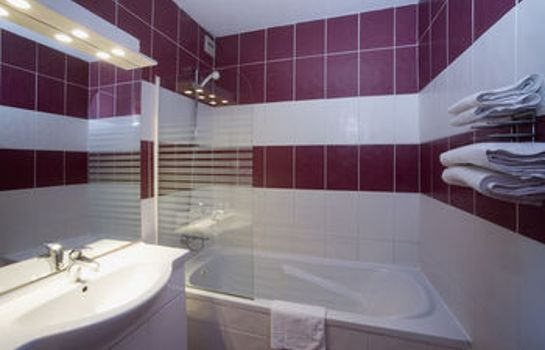 Bagno in camera Tropic Hotel
