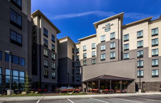 Exterior view Homewood Suites by Hilton  Lynnwood Seattle Everett WA
