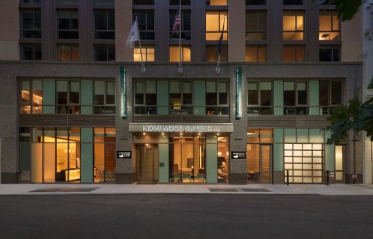 Vista esterna Homewood Suites by Hilton New York-Manhattan Times Square