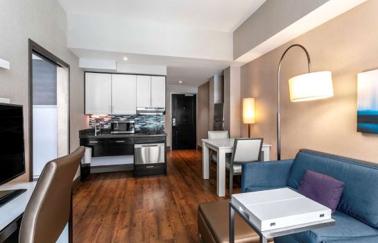 Vestíbulo del hotel Homewood Suites by Hilton New York-Manhattan Times Square