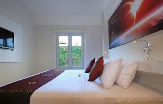 Chambre double (confort) MarsCity Hotel