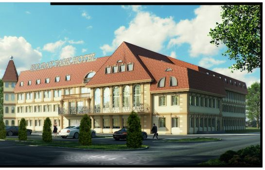 Exterior view Holiday Park