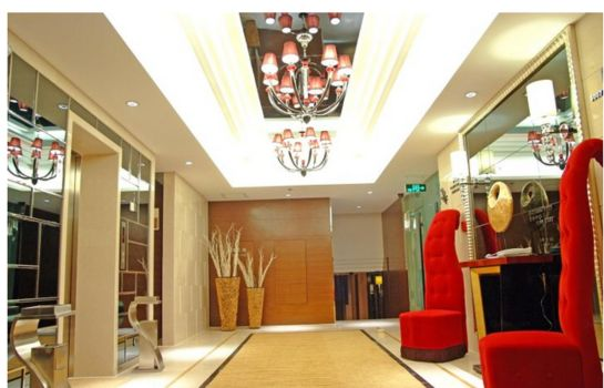 Vista all'interno Wangfu Shenghe Boutique