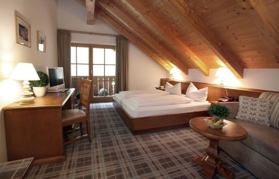 Chambre double (confort) Hotel Blaue Gams