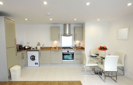 Keuken in de kamer PREMIER SUITES London