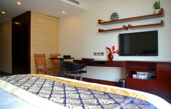 Camera singola (Comfort) Sweetome Holiday Apartment Xiasha Eastern International Business Center