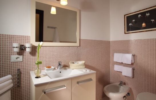 Badezimmer Roma Central Guest House