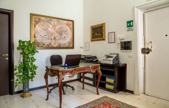 Empfang Roma Central Guest House