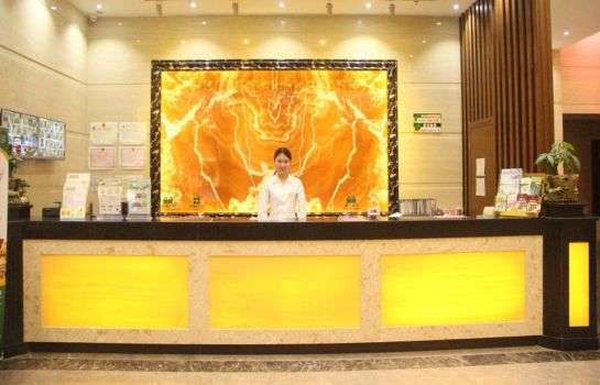 Reception Green Tree Inn Panyu Chimelong Happy World Business Hotel (Domestic only)