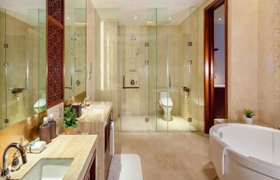 Bagno in camera Glenview Donheng Hotel
