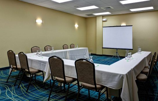 Conference room SpringHill Suites Wichita Airport