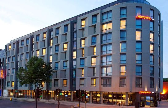 Exterior view Hampton by Hilton London Waterloo