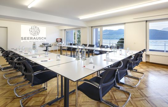 Conference room Seerausch Swiss Quality Hotel Beckenried