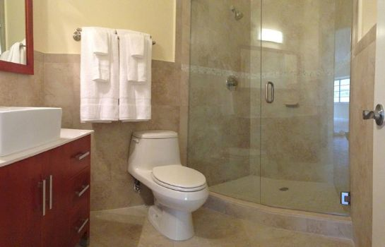 Bagno in camera Westover Arms Hotel