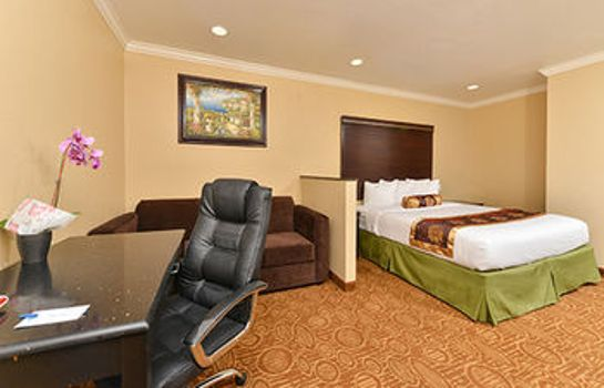 Standardzimmer Rodeway Inn San Diego Near Qualcomm Stadium