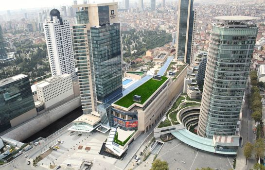 Exterior view Wyndham Grand Istanbul Levent