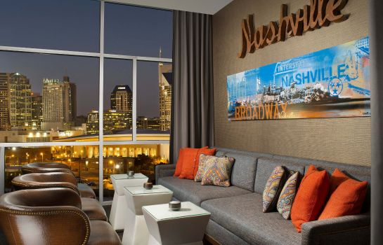 Hotel-Bar Fairfield Inn & Suites Nashville Downtown/The Gulch