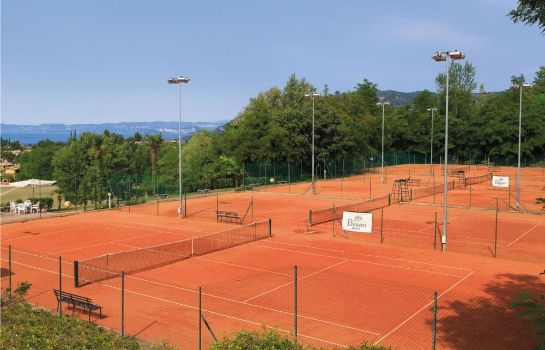 Tennisplatz Poiano Resort Apartments