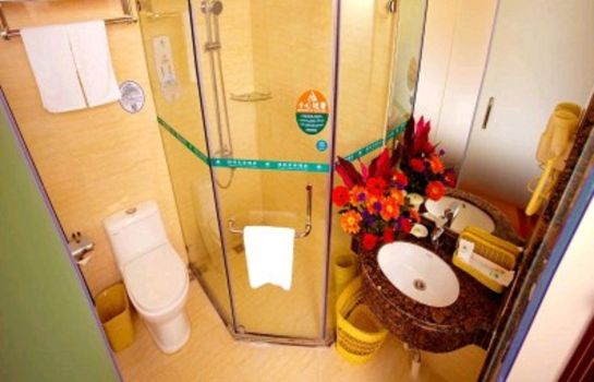 Badkamer GreenTree Inn Longjiang North Fenghua Road (Domestic only)