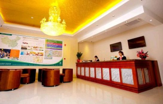 Reception GreenTree Inn Longjiang North Fenghua Road (Domestic only)
