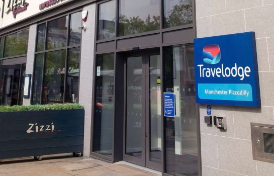 Außenansicht TRAVELODGE MANCHESTER PICCADILLY