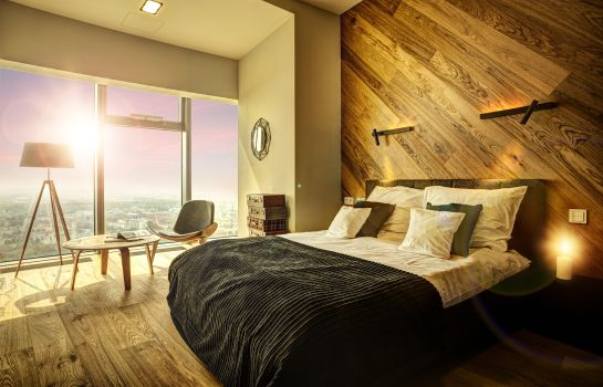 Chambre quadruple Apartamenty Sky Tower