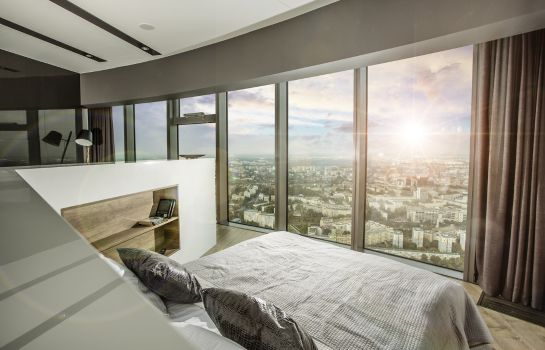 Chambre double (confort) Apartamenty Sky Tower