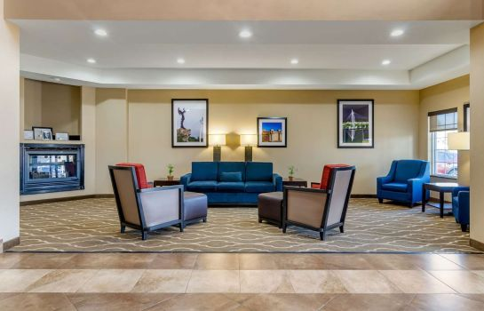 Lobby Comfort Inn and Suites near Bethel Colle