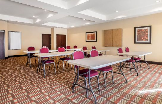 Conference room Comfort Inn and Suites near Bethel Colle