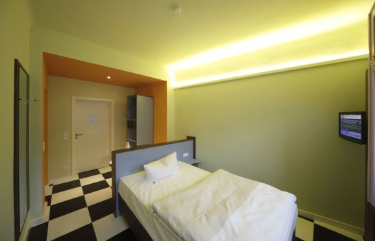 Single room (standard) Cityhotel Thüringer Hof Design Hannover