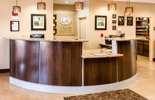 Hol hotelowy Comfort Suites Lafayette