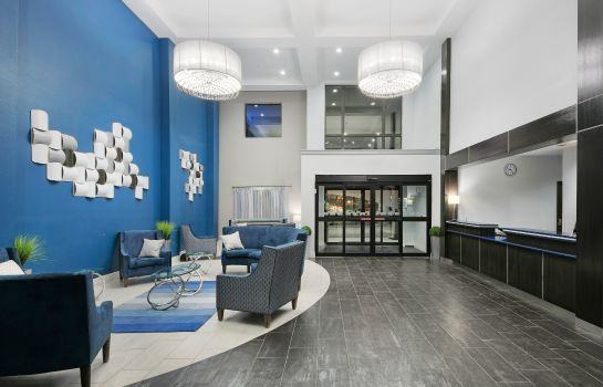 Hotelhalle Holiday Inn Express & Suites HOUSTON NORTH - IAH AREA