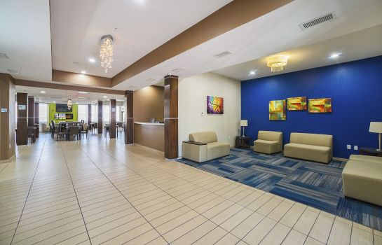 Hotelhalle Holiday Inn Express & Suites HAZELWOOD - ST. LOUIS