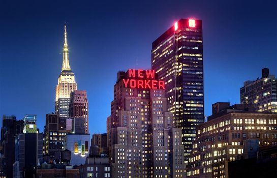 Buitenaanzicht The New Yorker A Wyndham Hotel