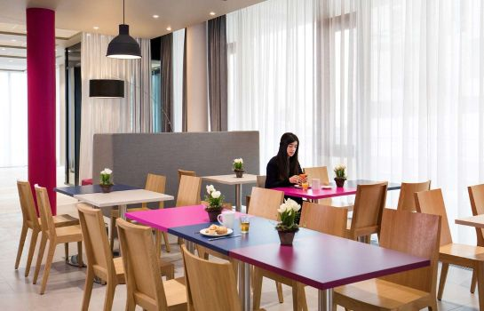 Breakfast room Aparthotel Adagio access München City Olympiapark