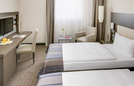 Chambre double (standard) IntercityHotel Dammtor-Messe