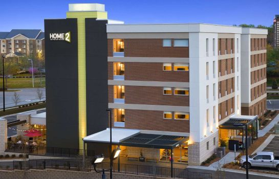 Vista exterior Home2 Suites by Hilton Greensboro Airport NC